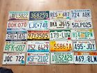 AMERICAN LICENCE PLATES INCLUDES FLORIDA, NEW YORK, CALIFORNIA, NEVADA, OHIO