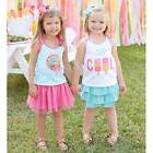 Mud Pie Summer Fun Lollipop or Popsicle Tank  12-18M, 24M-2T/3T, 4T/5T