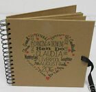 Personalised Hen Do Wedding Guest Book 8x8  Memory Book Album 20.3 x 20.3 cm