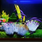 Newly Artificial Sea Anemone Silicone Coral Glowing Fish Tank Durable Decoration