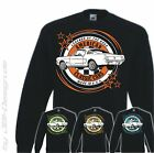Burnout Coyote Pullover Oldtimer US Car Muscle Mustang 2+2 1965 Fastback ford