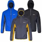 Regatta Great Outdoors Mens Levin Wind Waterproof Breathable Stretch Rain Jacket