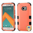 For HTC One 10 Hybrid TUFF IMPACT Phone Case Hard Rugged Cover
