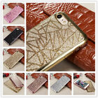For iPhone 7 Plus 6 6S Plus New Bling Shockproof Soft TPU Glitter Case Cover