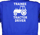 Trainee Tractor Driver, Childrens, Kids, Coverall, Boilersuit, Overall 1-7yr