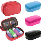 Toiletry Bag Travel Organizer Protable PU Leather Women Cosmetic Makeup Bags Hot