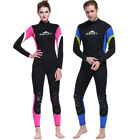 2017 NEW! Adult Unisex 3mm Neoprene Coverall Thermal Wetsuit Surfing Diving