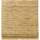 Cordless Woven Wood Bamboo Roman Shade 2 Colors Free Shipping