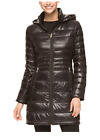 NEW Andrew Marc Ladies' Lightweight Long Packable Down Jacket - STRAIGHT