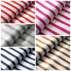"54"" x 10 yards Satin Stripes FABRIC BOLT Wedding Party Crafts Sewing Wholesale"
