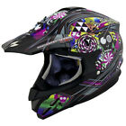 Scorpion EXO VX-34 Off-Road MX Helmet Black Demented Graphic Adult Sizes