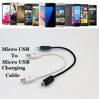 Micro USB M To M Charging Data Sync Cable: Charge One Device By Another Phone