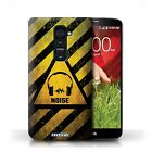STUFF4 Phone Case for LG G Smartphone/Hazard Warning Signs/Protective Cover