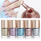 9ml Metallic Nail Art Polish Mirror Effect Shiny Metal Varnish Manicure 5 Colors