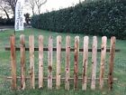 Picket Fence Panels 6x3-6x4-6x6 Garden,landscaping,diy Treated Timber