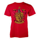 Harry Potter Official Licensed Mens Gryffindor Print Tee New Designer Top Tshirt