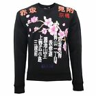 B8248 felpa uomo DSQUARED2 nero sweatshirt men
