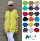 WATERSISTER Cotton Gauze RIO Ruched TUNIC 1 (M/L) 2 (L/XL) 3 (1X/2X) 2017 COLORS