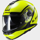 LS2 FF325 Strobe Civik Hi-Vis FLIP-UP Motorcycle Helmet BRAND NEW ACUAPPROVED