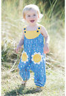 FRUGI BABY GIRLS SPRINGTIME DUNGAREES SUMMER SWALLOWS