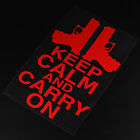 Waterproof Keep Calm And Carry On Kitchen Livingroom Car Stickers Supplies