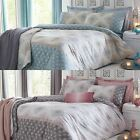 INDRA MODERN MOROCCAN STYLE BEDDING DUVET COVERS EASY CARE QUILT SETS ALL SIZES