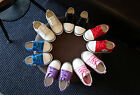 BOY GIRLS FLAT LACE UP PLIMSOLLS PUMPS CANVAS TRAINERS SHOES SPORTSWEAR SNEAKERS