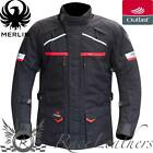MERLIN TITAN OUTLAST MENS BLACK WATERPROOF MOTORCYCLE MOTORBIKE BIKE JACKET