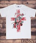 Men's T-Shirt England Knight & Horse St George's Proud English Loyalty TS732