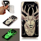 For Samsung Galaxy Fluorescence TPU Phone Cases Luminous Soft Silicon Cover Case