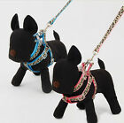 Pet Dog Leash Collar Harness Set Puppy Dog Outdoor Safety Leash Set Harness Set