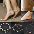 Charm Women Gold Butterfly Anklet Ankle Chain Bracelet Cuff Bangle Foot Jewelry image