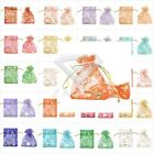 25/50/100/200/500pcs Premium Organza Bag 7x9cm Wedding Party Gift Pouch Jewelry