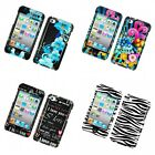 For Apple iPod Touch 4th Generation Design Hard Snap-On Phone Case Cover Skin