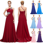 Long Chiffon Bridesmaid Formal Gown Dress Ball Party Cocktail Evening Prom Gown