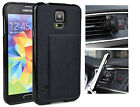 KroO TPU Card Case + Magnetic Car Mount Samsung Galaxy S5