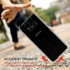 For New Samsung Galaxy S8 & S8 Plus TPU Gel Jelly Skin Case Cover Crystal Clear