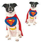 Rubies Official Licensed Superman Dog Fancy Dress Costume Superhero Pet Outfit