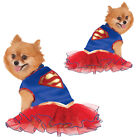 Rubies Official Licensed Supergirl Dog Fancy Dress Costume Superhero Pet Outfit