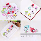 New Fashion Bulk Craft Sewing Wooden Candy Girl Buttons Scrapbooking 2 Holes