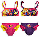Girls Bikini New Kids DC Superhero Girls 2 Piece Swimwear Set Ages 4-10 Years