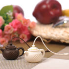 Cute Teapot-Shape Tea Infuser Strainer Silicone Tea Bag Leaf Filter Diffuser HOT