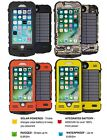 SnowLizard SLXtreme for iPhone 8/7 Case - WATERPROOF SOLAR POWERED 4000mAh