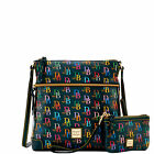 Dooney & Bourke DB75 Multi Crossbody & Med Wristlet