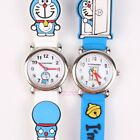 JAPAN DORAEMON 3D GRAPH SOFT SILICONE BAND CHILD WATCH W/ GIFT BOX