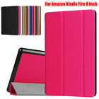 New Soft Flip Leather Case Cover Holder For Amazon Kindle Fire HD 8 Inch Tablet