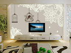 3D Bird Cage Flower Butterfly 0 Wall Paper Wall Print Decal Wall AJ WALLPAPER CA
