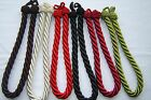 Rope Twist Tie Backs   6 Modern Colours to choose from,  Simple Elegance