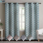 2 Pack: VCNY Home Alexander Blackout Grommet Curtain Panels - Assorted Colors