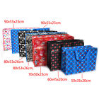 5 Size Moving bags Oxford  large capacity waterproof luggage cartoon woven bag B